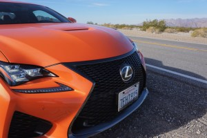 Closer Look At The 2016 Lexus RC F
