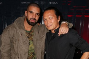 Drake and chef Susur Lee