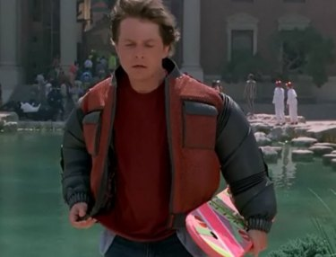 Back To The Future II Self-Drying Jacket