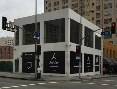 Just Don x Jordan Brand Pop-Up
