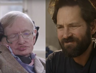 Actor Paul Rudd Takes on Stephen Hawking at Quantum Chess
