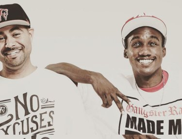Damien Ritter and Hopsin