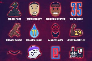 NBA All-Star 2016 emojis