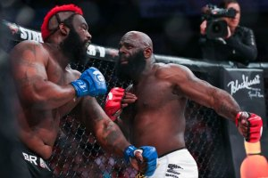 Kimbo Slice and Dada 5000 at Bellator 149