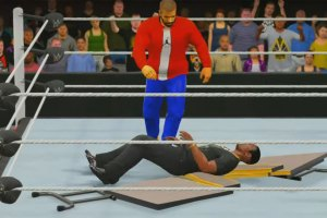 Meek Mill vs Drake in WWE 2K16