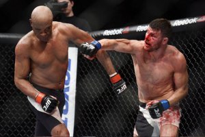 Michael Bisping Earns Decision Over Anderson Silva at UFC Fight Night