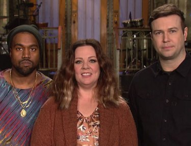 Kanye West, Melissa McCarthy Appear in SNL Promo