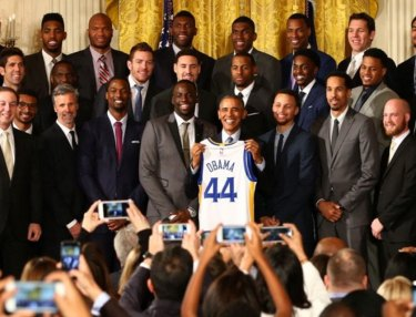 Golden State Warriors Visit the White House