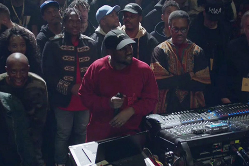 Kanye West debuts 'The Life of Pablo'