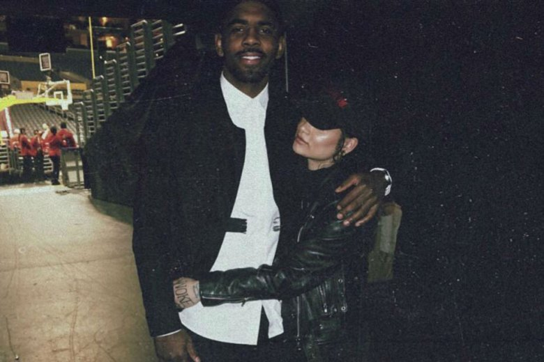 Kyrie Irving and Kehlani
