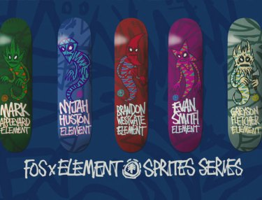 Element x FOS Perspective Series Skateboards