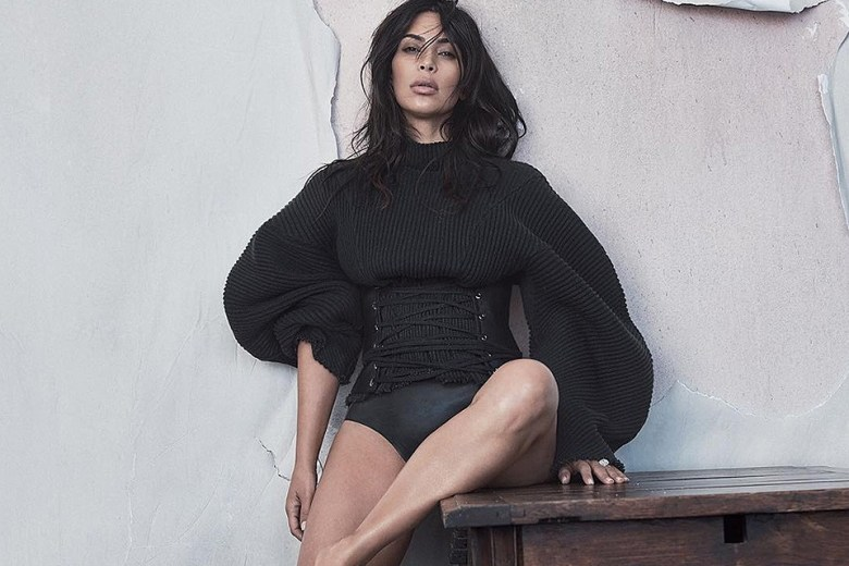 Kim Kardashian West For Vogue Australia