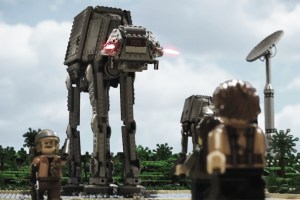 'Rogue One: A Star Wars Story' Trailer Recreated in LEGO