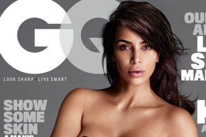 Kim Kardashian Covers GQ