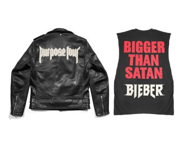 Justin Bieber Unveils Tour Merch Capsule with Barneys New York