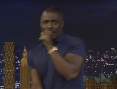 Watch Idris Elba & Jimmy Fallon Sing Desiigner's Panda