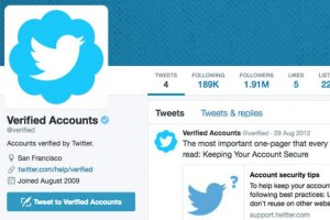 Verified Twitter Account