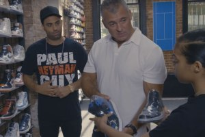 Sneaker Shopping With Shane McMahon