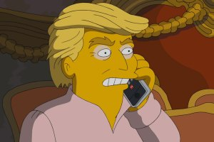 The Simpsons Poke Fun at Donald Trump