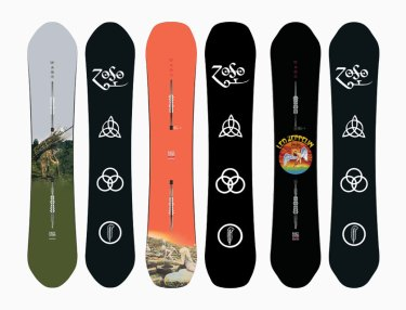 Burton x Led Zeppelin collection