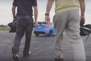 Grandparents Go Drifting in the 2016 Ford Focus RS