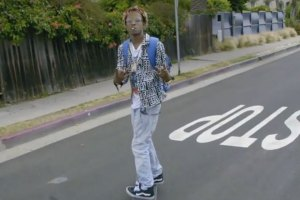 Rich The Kid showcases skateboarding skills