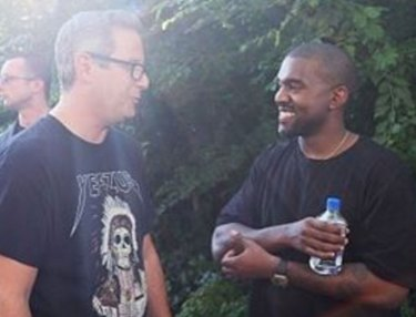 Jon Wexler and Kanye West