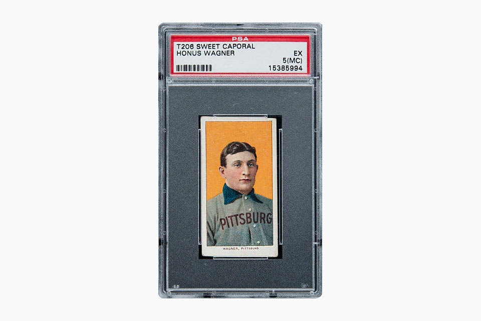 T206 Honus Wagner Card Fetches Record 312m At Auction