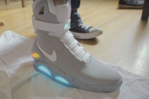 Nike MAG Raffle Winner Shows Off His New Kicks