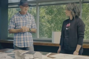Tinker Hatfield Explains Nike's Self-Lacing Technology
