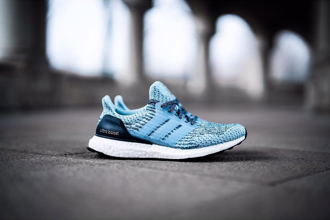Mens Adidas Running Ultra Boost 3.0 MYSTERY BLUE (BA 8844)