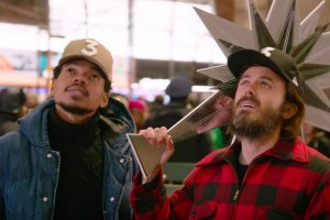 Chance The Rapper Tries to Decorate NYC's Rockefeller Tree