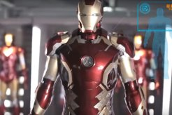 Life-Sized Iron Man Suit