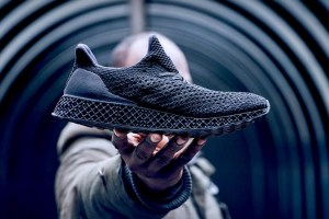 Adidas 3D-Printed Runner Triple Black