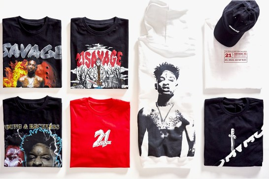 21 Savage x Young & Reckless Collection