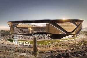 Raiders Stadium in Las Vegas Renderings