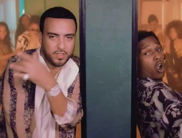 French Montana ft. A$AP Rocky - Said N Done (Video)