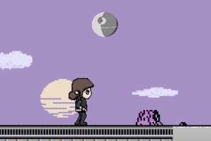 Rogue One Re-Imagined in 8-Bit