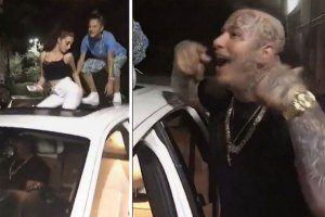 Cash Me Ousside girl and Stitches