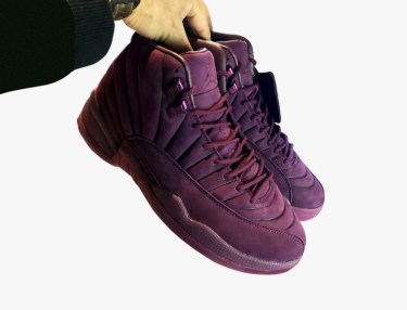 Public School x Air Jordan 12 Bordeaux