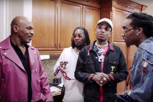 Mike Tyson Gives Migos a Tour of His Las Vegas