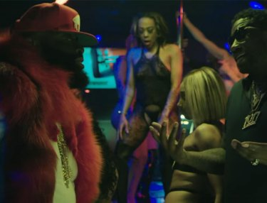 Rick Ross ft. Gucci Mane - She On My D*ck (Video)