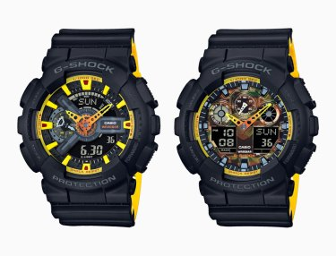 G-Shock Yellow Accent Color Series