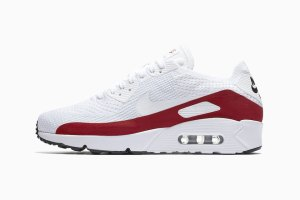 Nike Air Max 90 Ultra 2.0 Flyknit White/Red