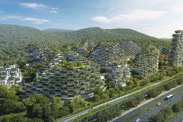 Vertical Forest City in China
