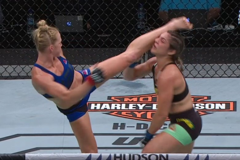 Holly Holm Knocks Out Bethe Correia With Devastating Head Kick