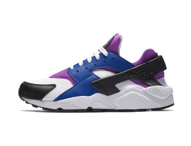 Nike Air Huarache blue purple white black