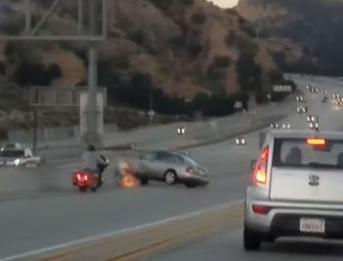 California Road Rage Incident Ends in crash