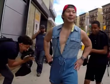 Dude Walks Around NYC in a Men's Romper for 10 Hrs