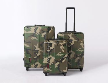 UNITED ARROWS x BRIEFING Limited Camo Luggage Set